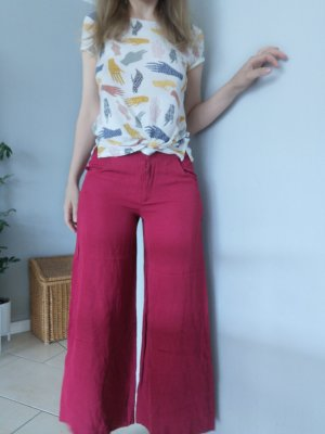 Kenzo, Hose, rot, Größe 36, breite Hosen