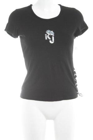 Kenzo Jeans T-Shirt mehrfarbig Casual-Look