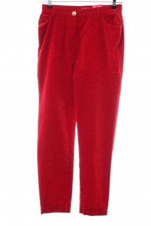 kenzo jungle Stoffhose rot Casual-Look