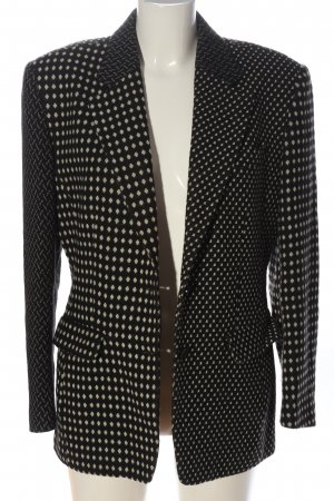 kenzo jungle Blazer tejido negro-blanco puro look casual
