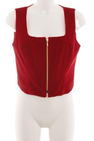 kenzo jungle Canotta a bretelle rosso elegante