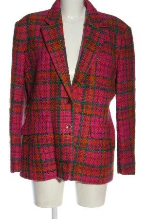 kenzo jungle Blazer de lana estampado a cuadros look casual