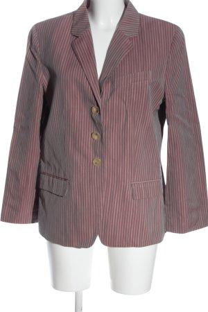 Kenzo Klassischer Blazer pink Streifenmuster Business-Look
