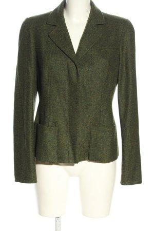 Kenzo Kurz-Blazer grün Business-Look