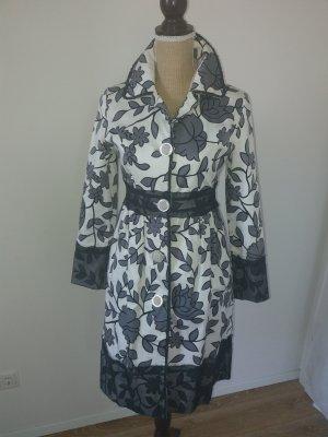 Kenzo Geklede jurk wit-zwart