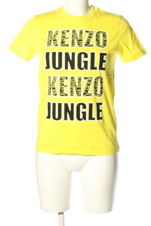 Kenzo Print-Shirt Schriftzug gedruckt Casual-Look