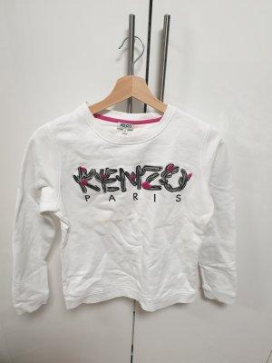 Kenzo Maglione twin set bianco