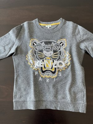 Kenzo Suéter gris-amarillo