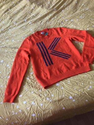 Kenzo Pullover orange M eher 36