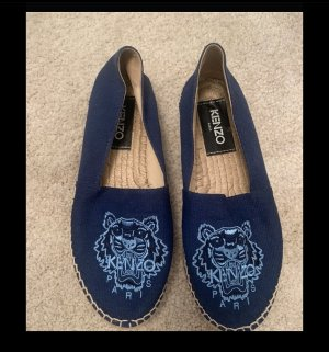 Kenzo Espadrille sandalen blauw