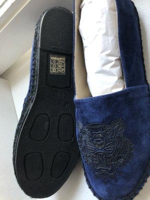 Kenzo Espadrille bleu-noir