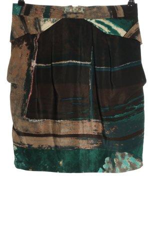 Kenzo Zijden rok abstract patroon casual uitstraling