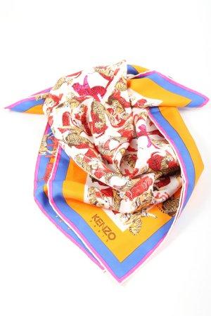 Kenzo Foulard en soie imprimé allover style décontracté
