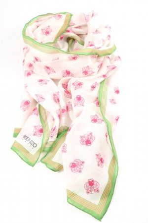 Kenzo Summer Scarf allover print casual look