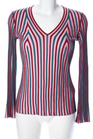 Kenzo Gebreid shirt gestreept patroon casual uitstraling