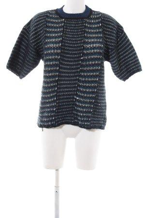 Kenzo Strickshirt blau meliert Casual-Look