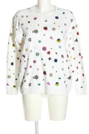 Kenzo Sweatshirt Allover-Druck Casual-Look