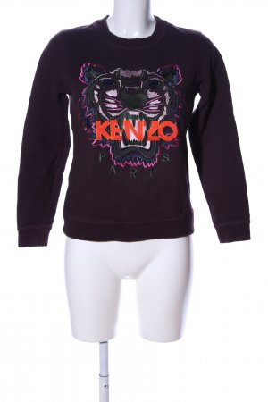 Kenzo Sweatshirt Motivdruck Casual-Look