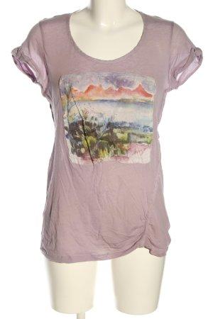 Kenzo T-Shirt pink Motivdruck Casual-Look