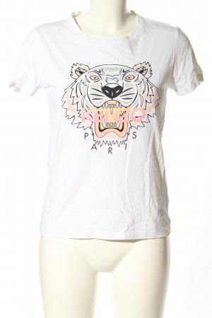 Kenzo T-Shirt Motivdruck Casual-Look