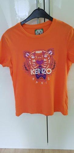 Kenzo T-shirt Gr. S/M Zustand Sehr gut Orange