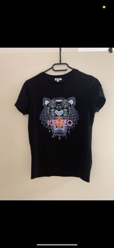 Kenzo Camiseta Básico negro Algodón
