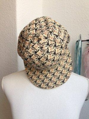 Kenzo Flat Cap beige cotton