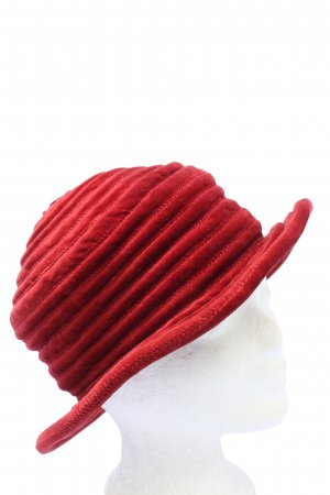 Kenzo Trilby red striped pattern casual look