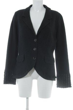 Kenzo Blazer en tweed noir style d'affaires