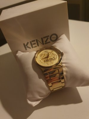 Kenzo Watch With Metal Strap gold-colored