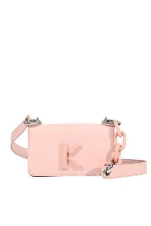 Kenzo Umhängetasche in Rosa aus Leder