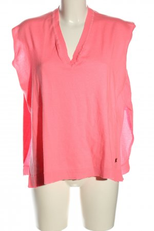 Kenzo V-Ausschnitt-Pullover pink Casual-Look