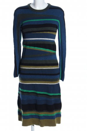 Kenzo Vestito di lana stampa integrale stile casual