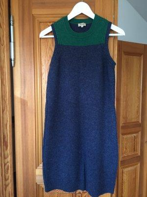 Kenzo Swetrowa sukienka ciemnoniebieski-ciemnozielony