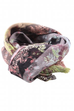 Kenzo Woolen Scarf abstract pattern casual look