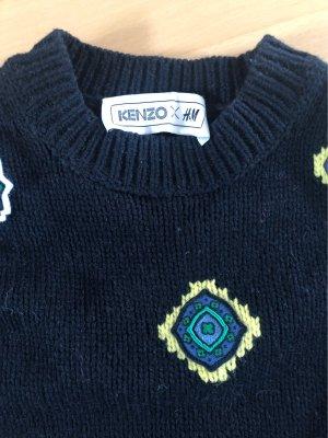 Kenzo H&M Jersey de lana negro