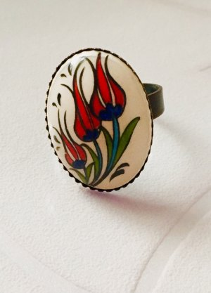 Statement Ring multicolored