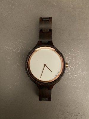 Kerbholz Armbanduhr mit Zubehör