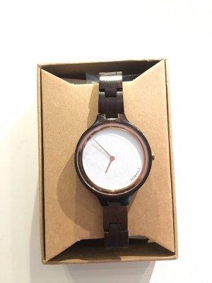 Kerbholz Analoog horloge veelkleurig Hout