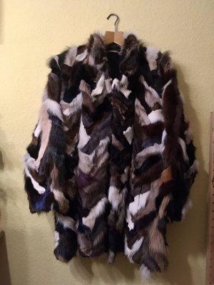 Pelt Coat brown-white