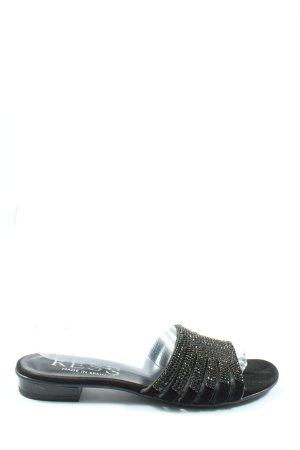 Kess Claquette noir style décontracté