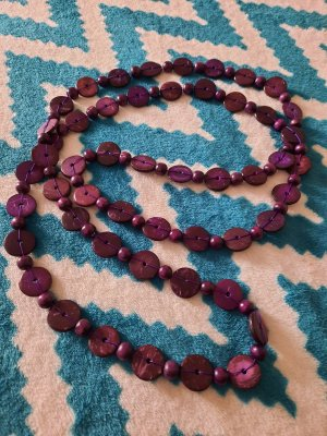 Łańcuch ciemny fiolet-niebiesko-fioletowy
