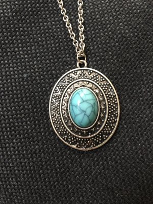 OVS Collier turquoise-gris