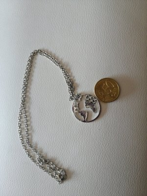 unknown Necklace silver-colored