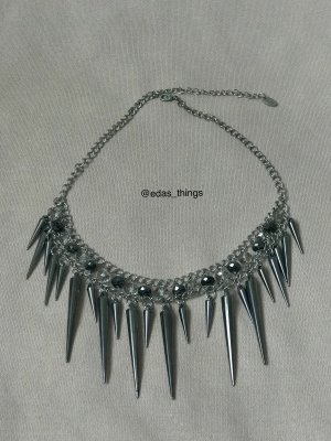 1982 Collar color plata-gris