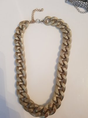 H&M Shell Necklace gold-colored