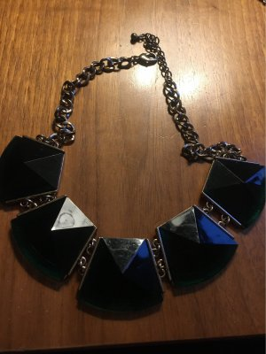H&M Necklace gold-colored-green
