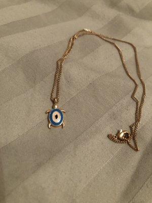 Collier or rose-bleu