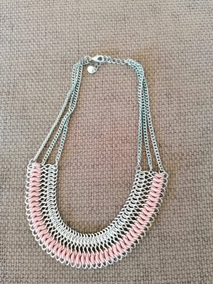 s. Oliver (QS designed) Link Chain silver-colored-pink