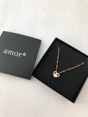amor Necklace gold-colored